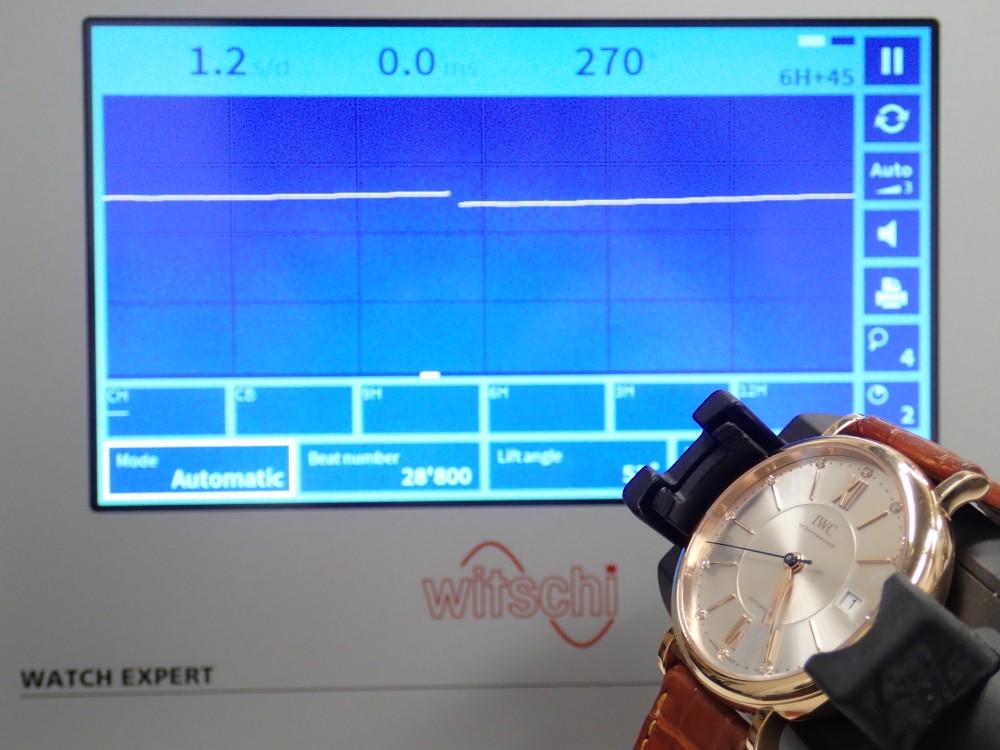 新しい歩度測定器が到着しました!-メンテナンス -P3010114