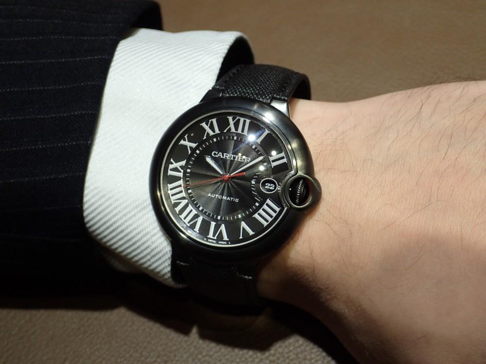 エレガント×スポーティー 腕元をカッコ良く決めるならカルティエ バロンブルー-Cartier -P3220523