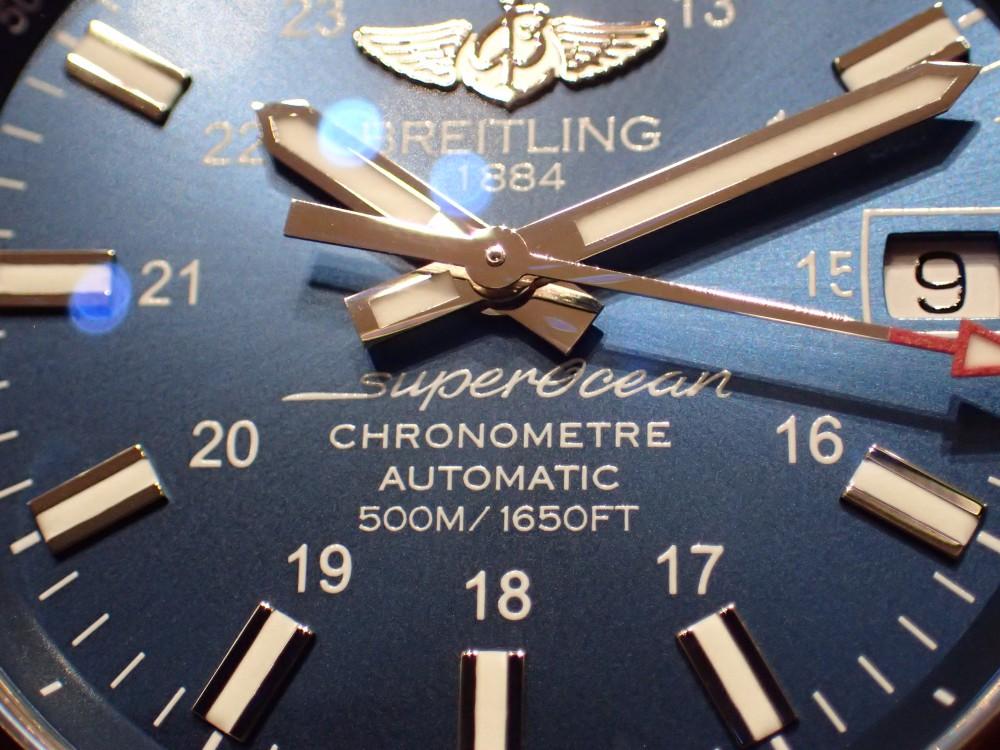 モデルチェンジが発表されたからこそお勧めのスーパーオーシャン!-BREITLING フェアー&イベント情報 -P3260556
