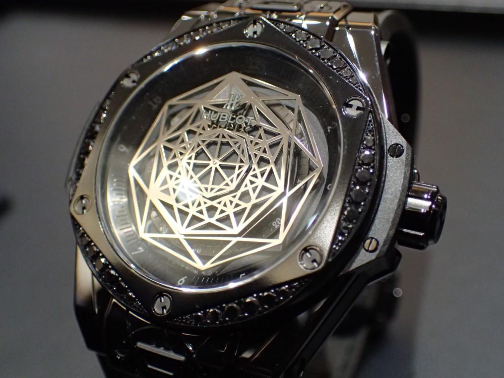 美しい造形・輝きが人気のモデル ウブロ ビッグバン サンブルー-HUBLOT -P3280586