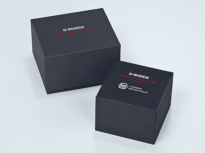 本日より予約開始~G-SHOCK 新構造のカーボンコアガード構造 『GWR-B1000X-1AJR』バーゼル発表モデル-G-SHOCK -GWR-B1000X-1A_package