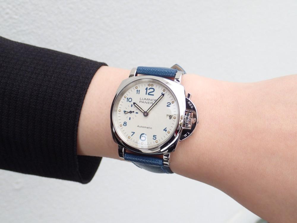 女性必見 周りに差をつける個性的時計 パネライルミノールドゥエPAM00903-PANERAI -P4020640