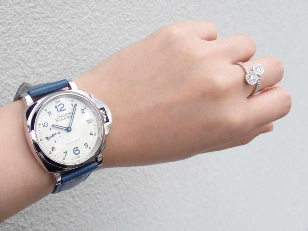 女性必見 周りに差をつける個性的時計 パネライルミノールドゥエPAM00903-PANERAI -P4020645