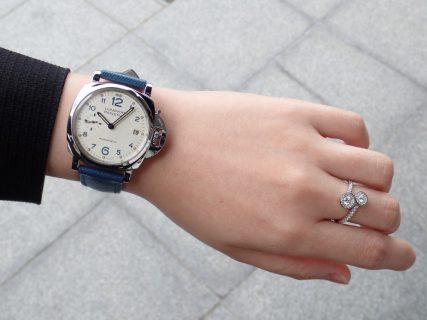 女性必見 周りに差をつける個性的時計 パネライルミノールドゥエPAM00903