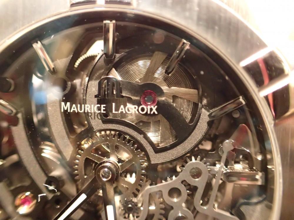 時計の一挙一動が見られる時計 モーリス・ラクロア アイコンスケルトン-MAURICE LACROIX -P4290983