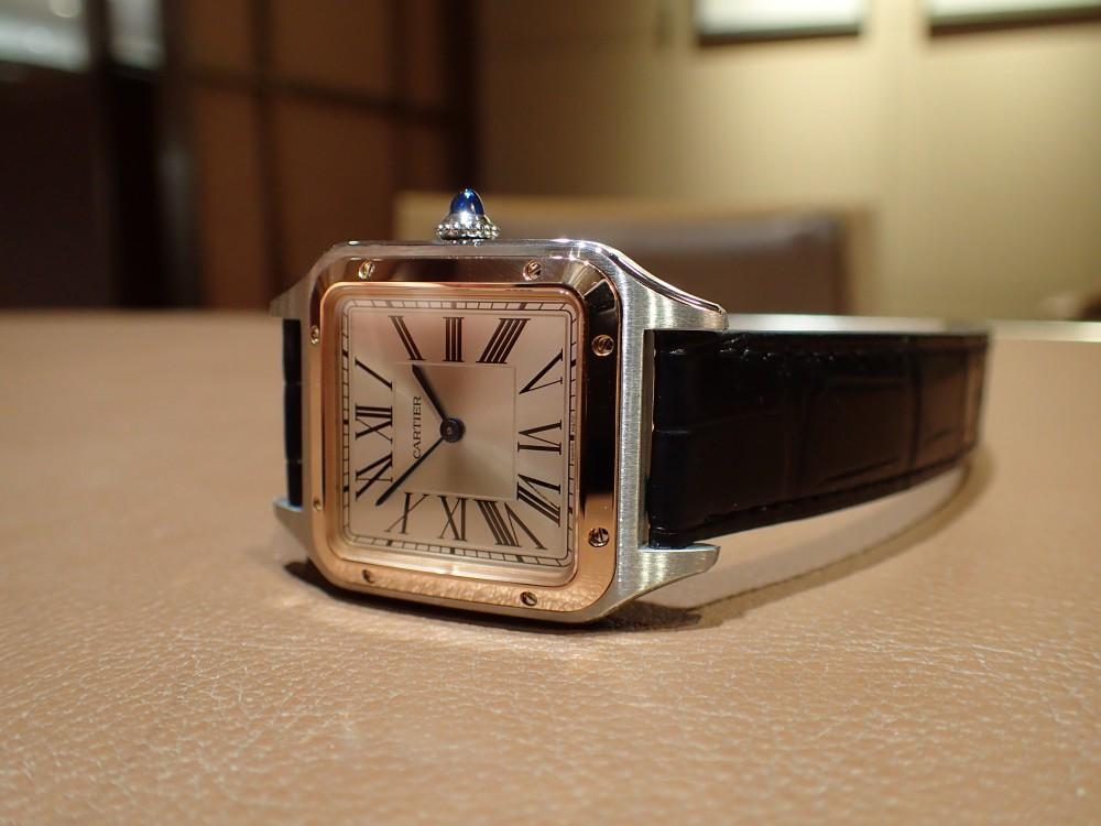 カルティエ2019年新作 サントス デュモンが店頭に入荷しております。-Cartier
