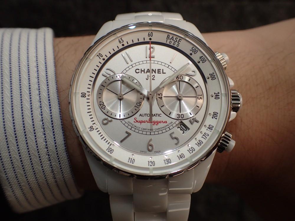時計が映える季節J12 スーパーレッジェーラで腕元をスポーティ&爽やかに-CHANEL -P5101111
