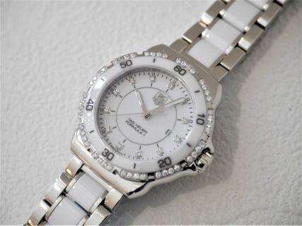 タグ・ホイヤー大人気の中、生産終了となったフォーミュラ1ダイヤモンド
