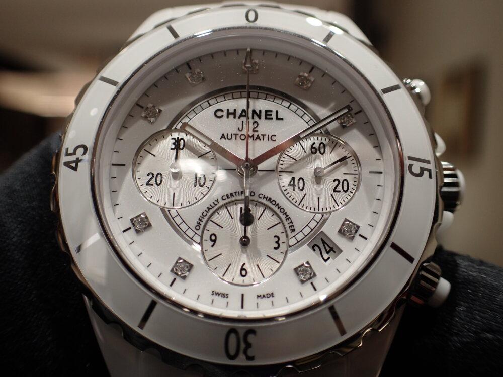 夏の時計と言えばこれ!シャネル J12 クロノグラフで決まり!-CHANEL -P5310109