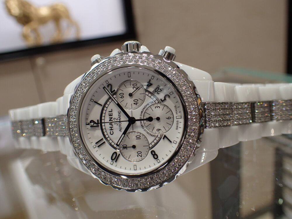 大好評シャネルフェアは明日まで!夏の腕元にはシャネルの時計を☆-CHANEL -P7190718