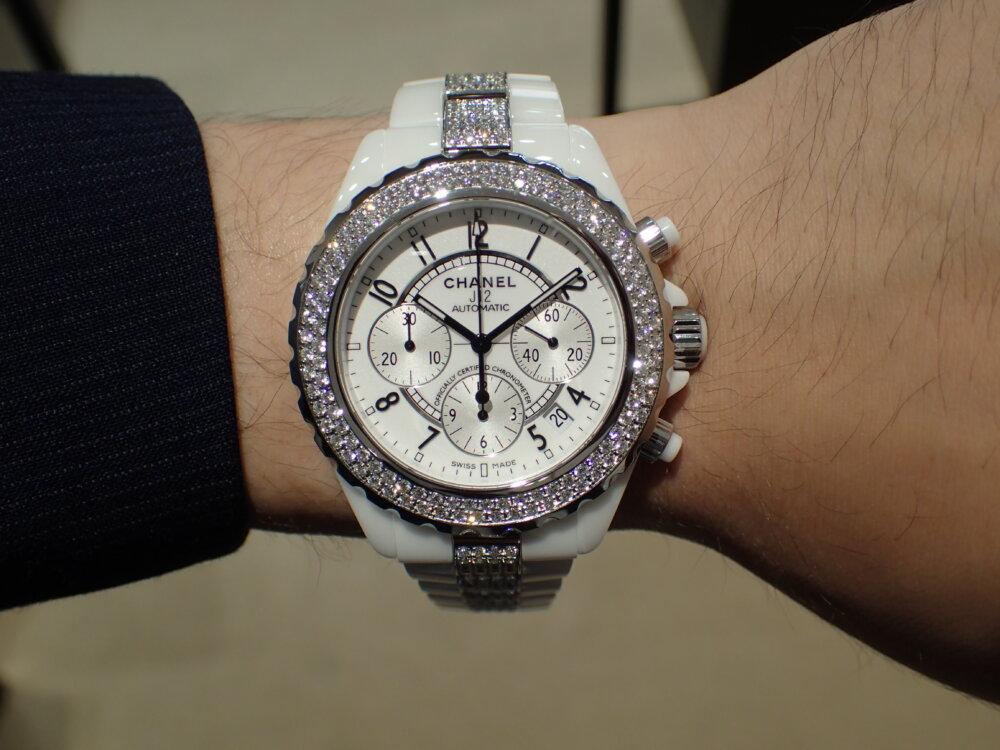 大好評シャネルフェアは明日まで!夏の腕元にはシャネルの時計を☆-CHANEL -P7190720