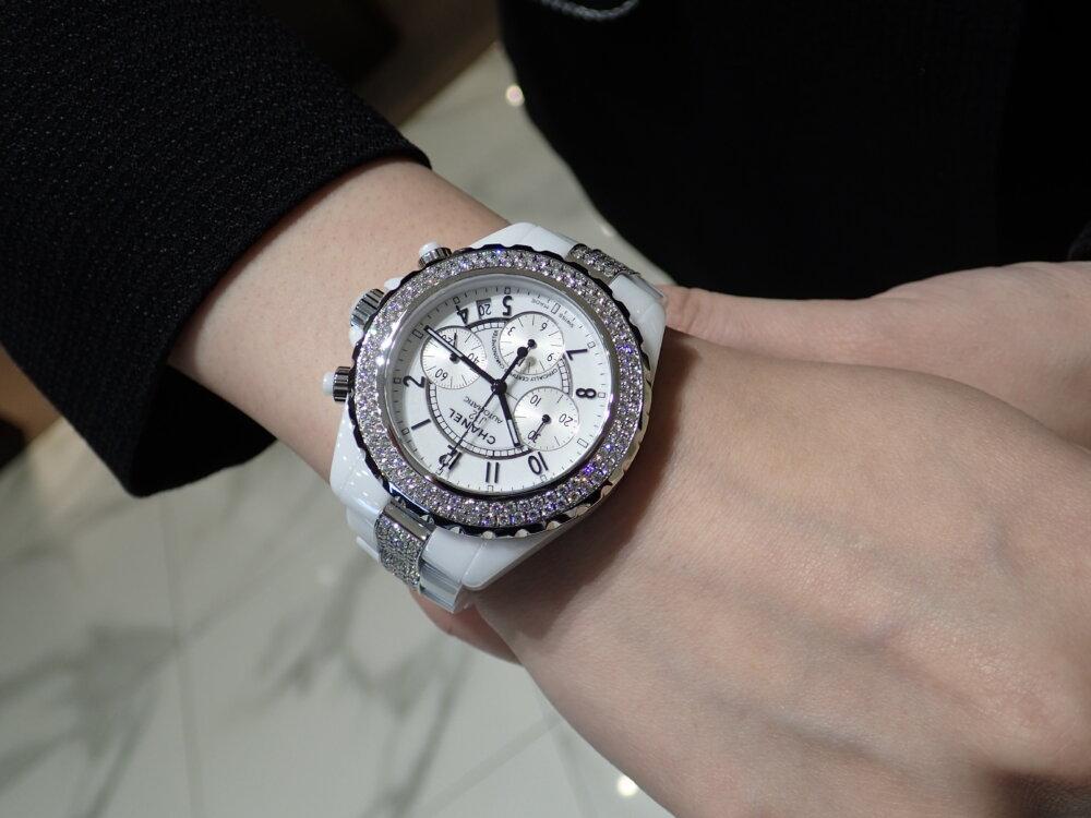 大好評シャネルフェアは明日まで!夏の腕元にはシャネルの時計を☆-CHANEL -P7190730