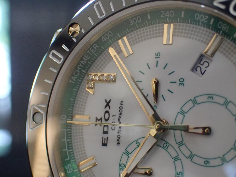 エドックス クロノオフショア1 135周年記念の爽やかなモデルが入荷しました!-EDOX -P7230849