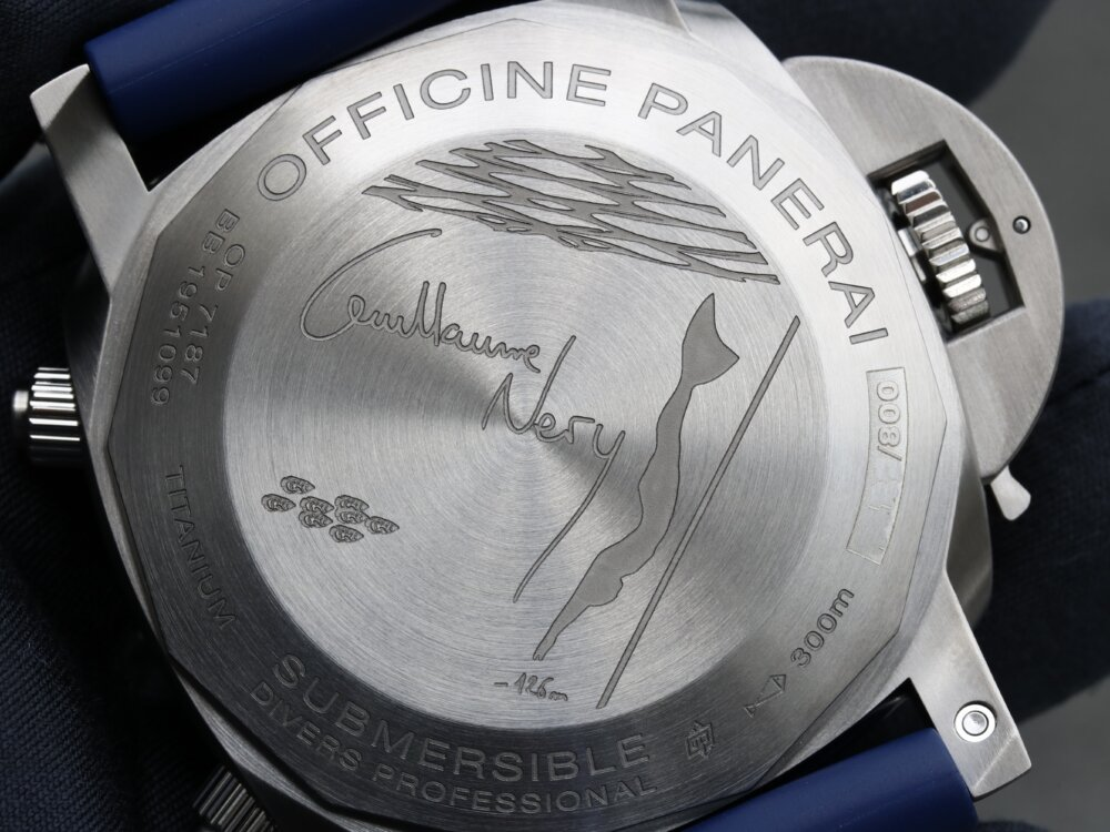 パネライ 2019年新作モデル サブマーシブル クロノ ギヨーム・ネリー エディション-PANERAI -PAN