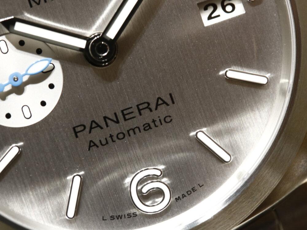 パネライ 手軽に大きく印象を変えることができるストラップ変更がオススメ-PANERAI -MG_1144