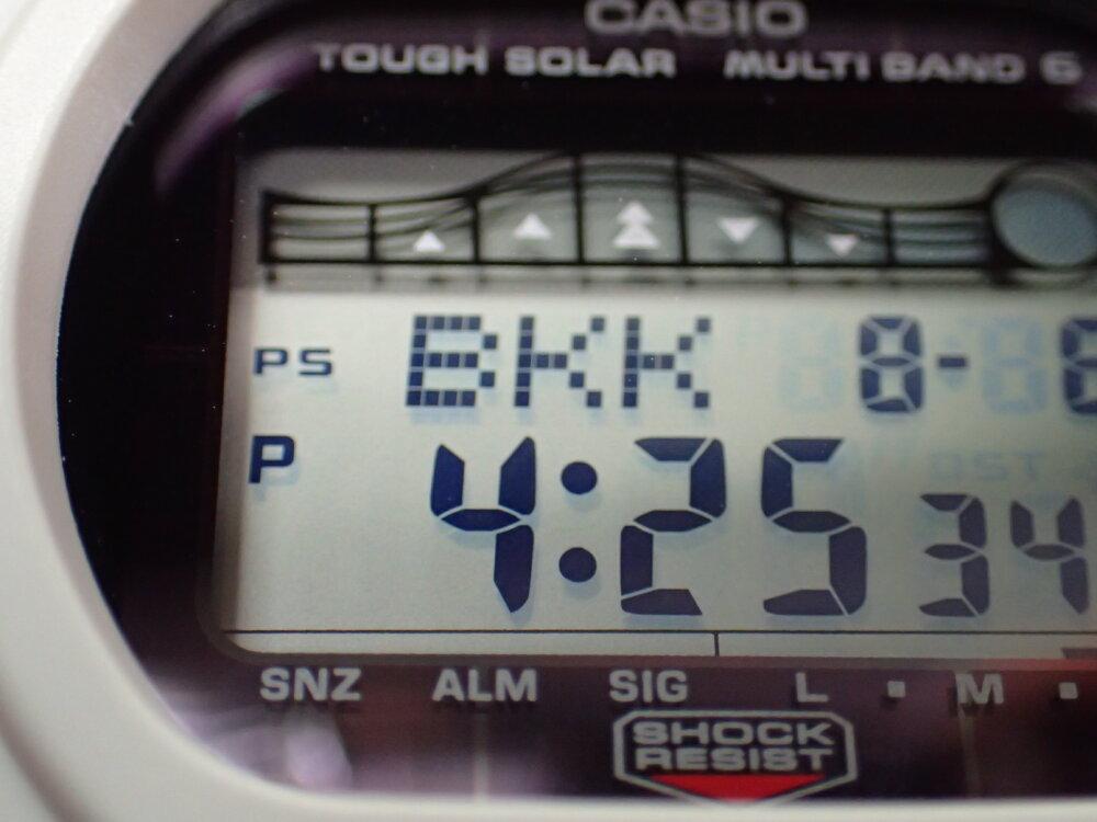 電波時計の時刻が合わない~其の㊀~-G-SHOCK メンテナンス -P8060191