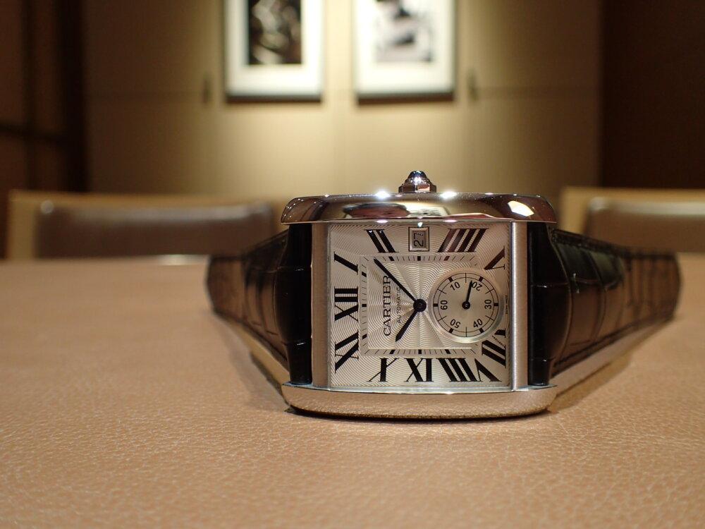 増税前に人気モデルが再入荷! カジュアルでも映えるカルティエ タンクMC-Cartier -P8080173