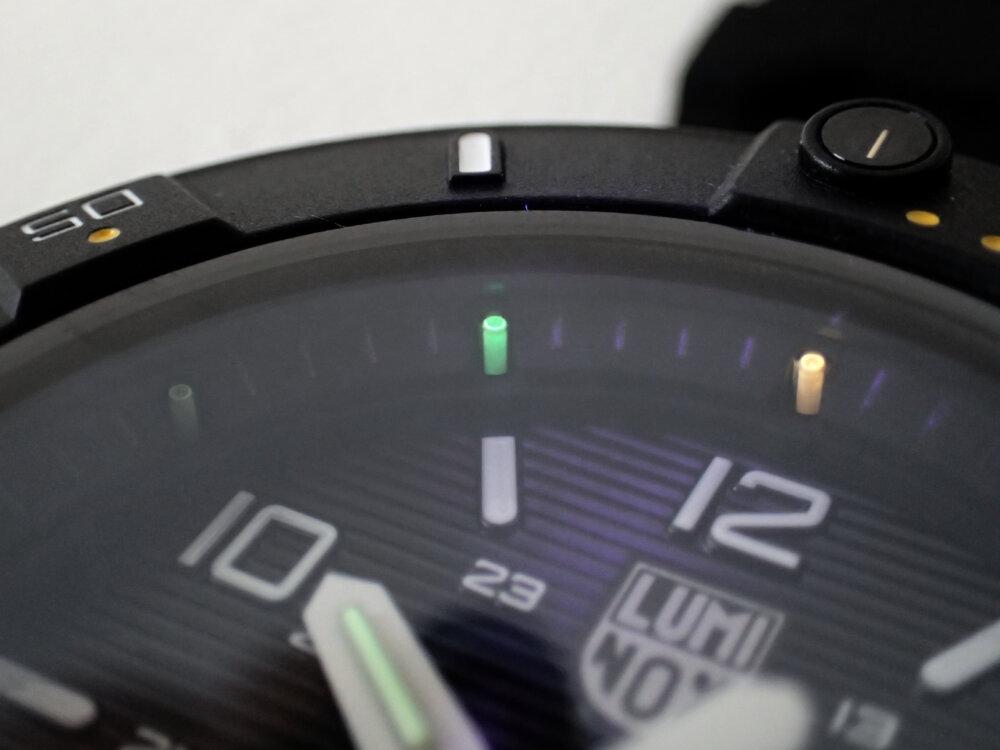 さらなる視認性を追求した新定番「ルミノックス3600シリーズ」-Luminox -P8160289