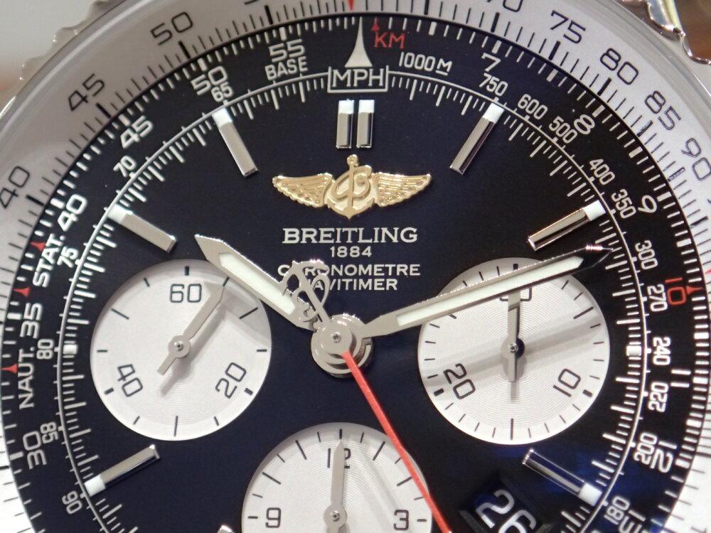 完売になっていたウィングロゴのナビタイマーが再入荷!-BREITLING -P1290180