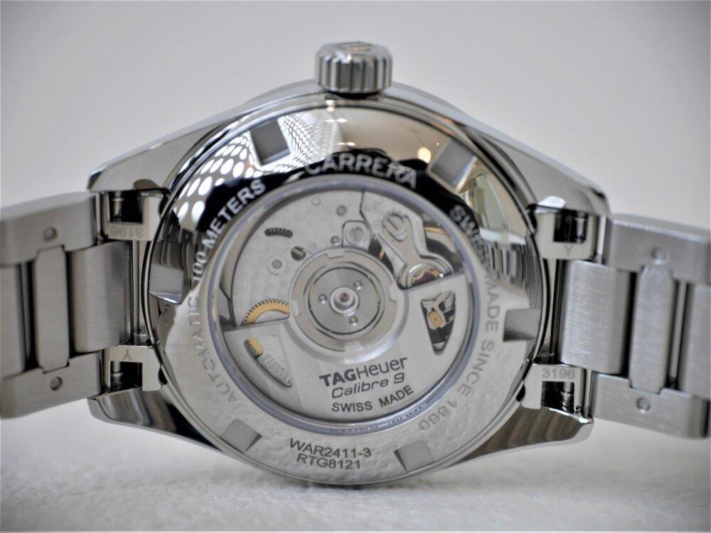 タグ・ホイヤー複数年ご愛用頂いても飽きの来ない完成された「カレラレディ」-TAG Heuer -P1420677