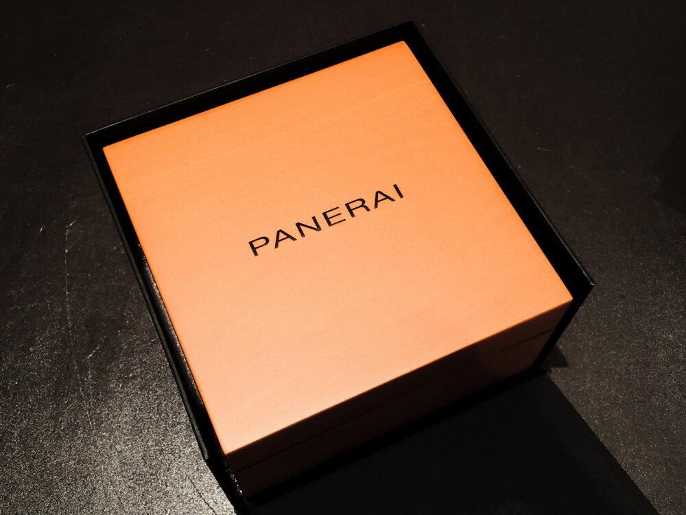パネライのルミノールを買ってみたらどんな豪華なセット内容なんだろう?-PANERAI -PA210425