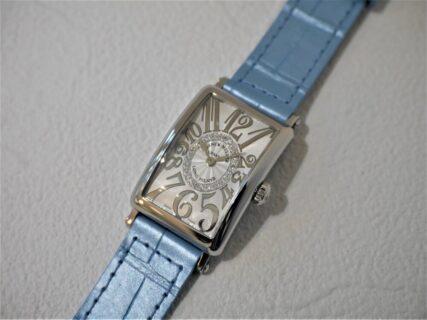 フランクミュラー美しい文字盤の作りに見惚れてしまうロングアイランドレリーフダイヤモンド