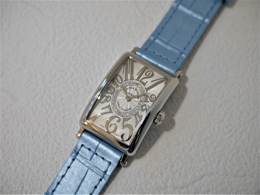 フランクミュラー美しい文字盤の作りに見惚れてしまうロングアイランドレリーフダイヤモンド-FRANCK MULLER -P1430982