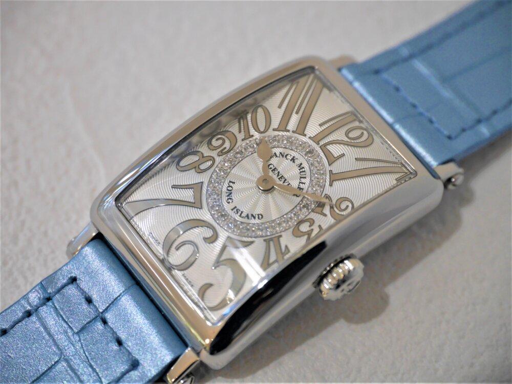 フランクミュラー美しい文字盤の作りに見惚れてしまうロングアイランドレリーフダイヤモンド-FRANCK MULLER -P1430987