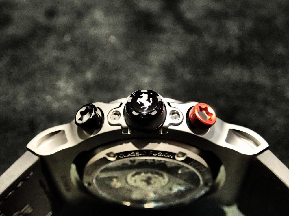 ウブロとフェラーリの融合で誕生した「クラシック・フュージョン フェラーリGT」-HUBLOT -P2074441