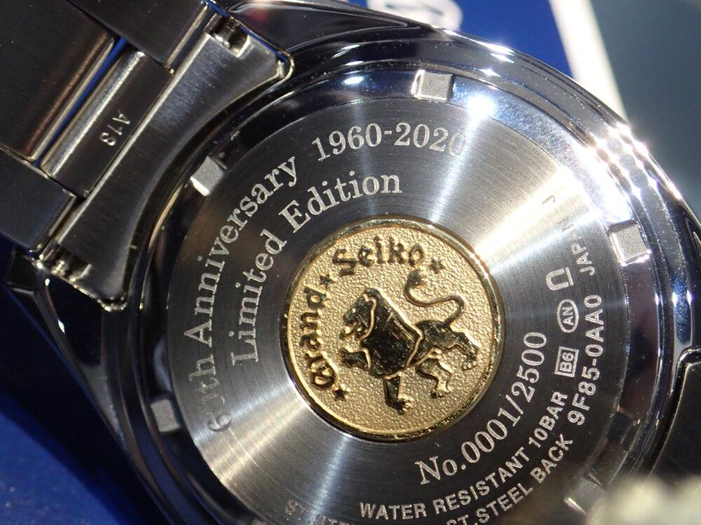 発売前モデルが見れる?グランドセイコー60周年記念4モデル集結!-Grand Seiko -P2184782