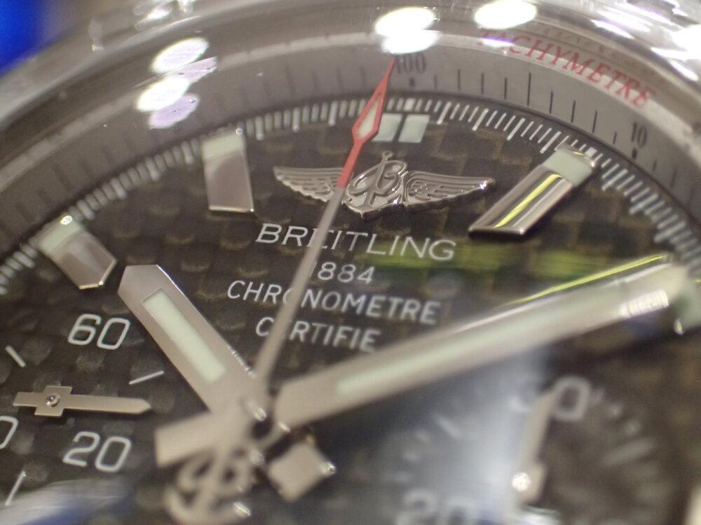 ブライトリング クロノマット44惜しくも生産終了 カーボンダイヤル-BREITLING -P2234928