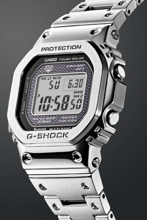 某ドラマで人気俳優も着用した、フルメタル構造のG-SHOCK GMW-B5000D-1JF-G-SHOCK -gallery1