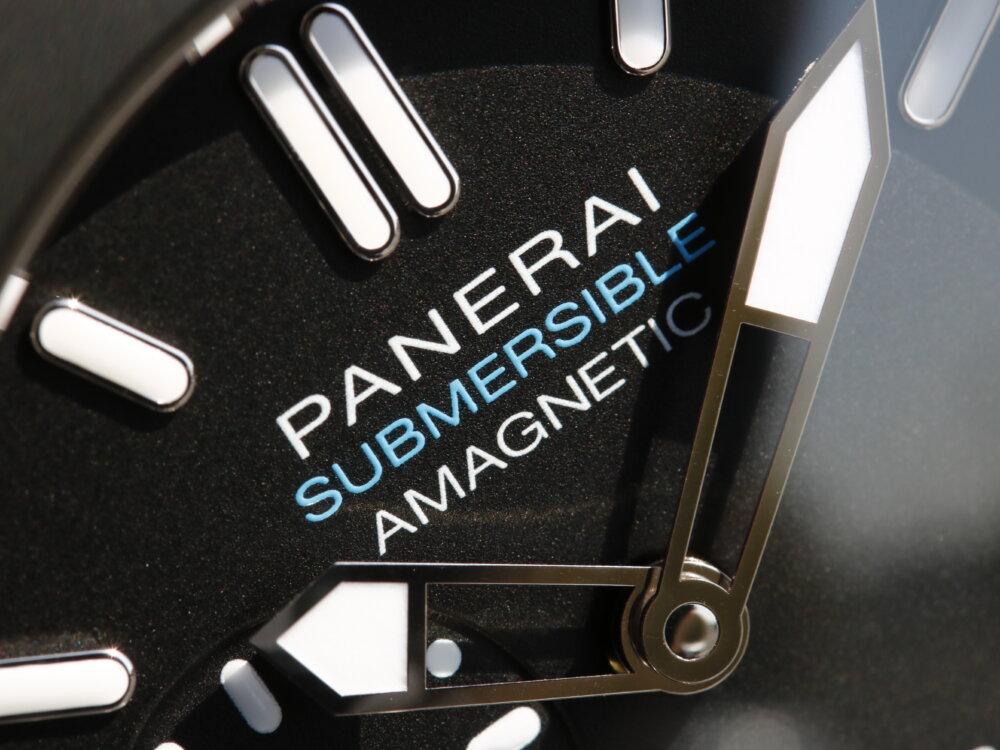 腕時計の大敵『磁気』への耐性をもつダイバーウォッチ サブマーシブル1950 アマグネティック PAM01389-PANERAI -MG_2815