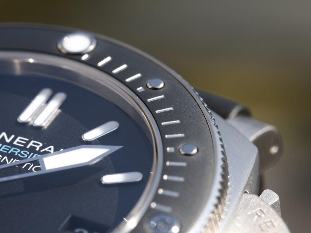 腕時計の大敵『磁気』への耐性をもつダイバーウォッチ サブマーシブル1950 アマグネティック PAM01389-PANERAI -MG_2818