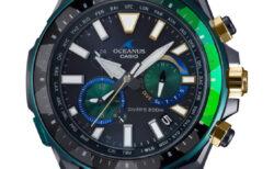 オシアナス世界限定モデル! 特別な輝きのダイバー OCW-P2000S-1AJR