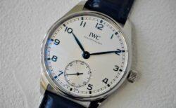 IWC長い歴史の中で一貫して受け継がれてきたデザイン「ポルトギーゼ オートマティック 40」