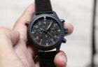 IWC 新素材『セラタニウム』を使用したパイロット・ウォッチ ダブルクロノグラフ