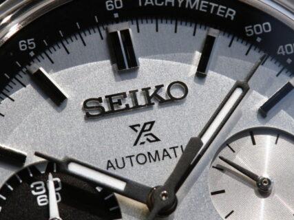 セイコー プロスペックス 自動巻きクロノグラフ50周年記念限定モデル SBEC005