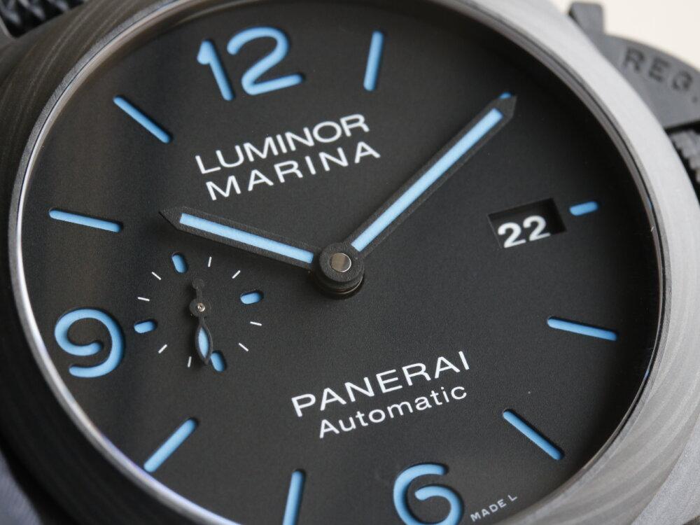 パネライ 話題の2020年新作モデル ルミノールマリーナ カーボテック™ PAM01661-PANERAI -MG_3628
