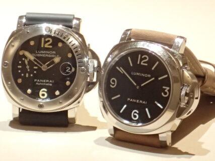 時計販売員も愛用するパネライ~スタッフ私物の時計をご紹介~