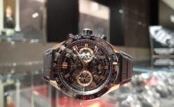 成人式には「金」を使った華やかな時計で優雅なひと時をお過ごし下さいませ。