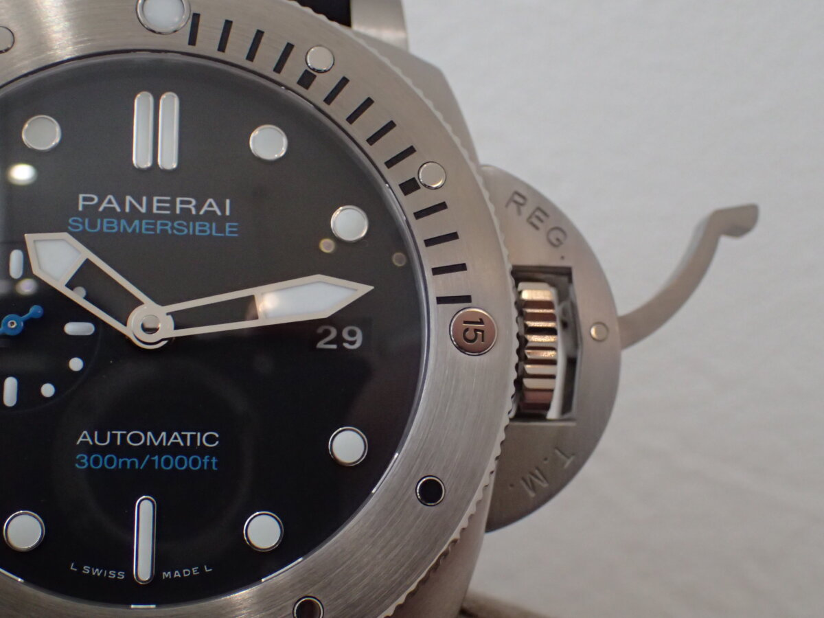 ダイバーの方必見!高級時計を着けて海に潜ってみませんか?-PANERAI -P1113970