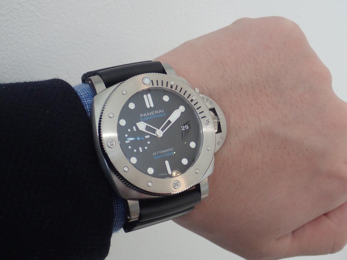 ダイバーの方必見!高級時計を着けて海に潜ってみませんか?-PANERAI -P1113972