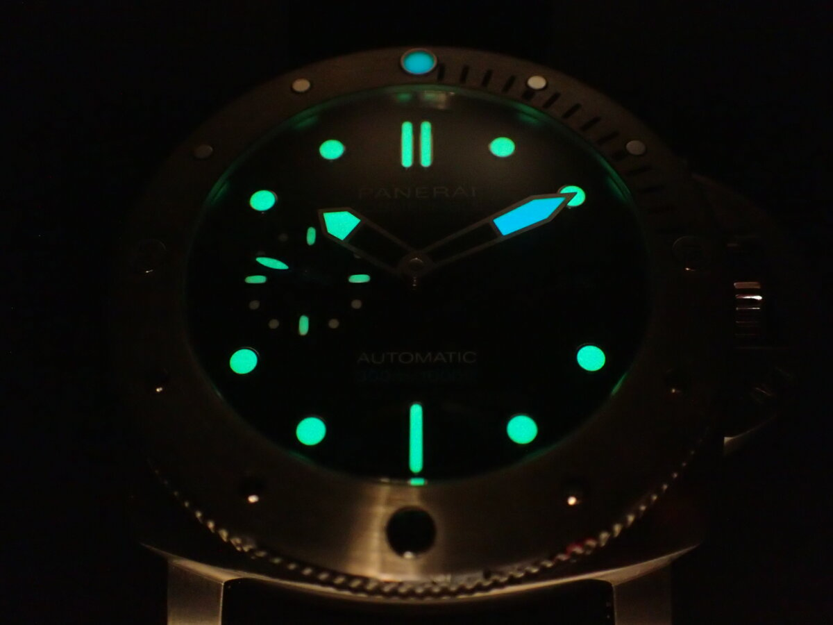 ダイバーの方必見!高級時計を着けて海に潜ってみませんか?-PANERAI -P1113974