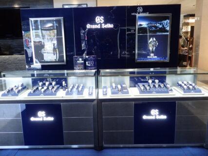 本日最終日!グランドセイコーコレクションoomiya和歌山本店!皆様のご来店を心よりお待ちしております。