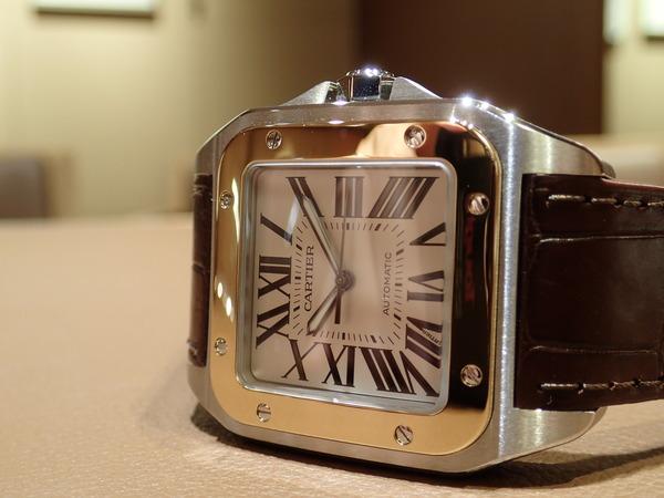 Cartier(カルティエ) サントス100(W20072X7) 入荷
