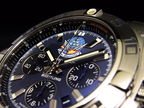 CHRONOMAT 44 BLUE IMPULSE