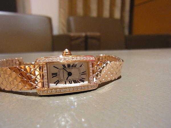quality design 3dd8d 97a9b Cartier(カルティエ) 2014年新作 ミニ タンクアメリカン (WB710012 ...