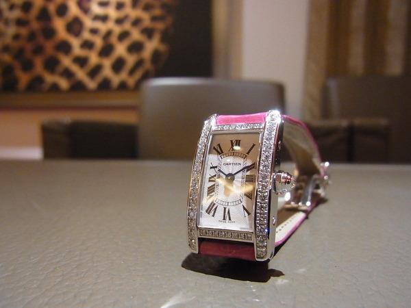 Cartier(カルティエ) 2014年新作 ミニ タンクアメリカン(WB710015)入荷