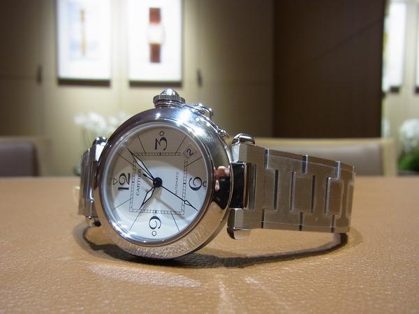 Cartier(カルティエ)定番人気モデル パシャC (W31074M7)-Cartier -fab29b26-s